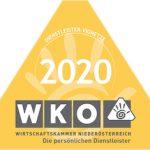 Dienstleister-Vignette 2020 der Wirtschaftskammer Österreich für Lichtpfoten