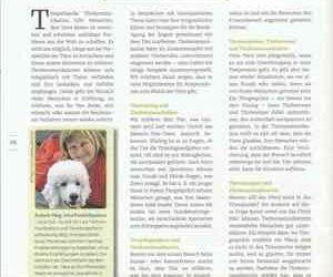 Tierberufe-Fachmagazin – Artikel von Irina POD